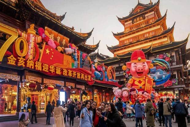 destinasi wisata tahun baru china